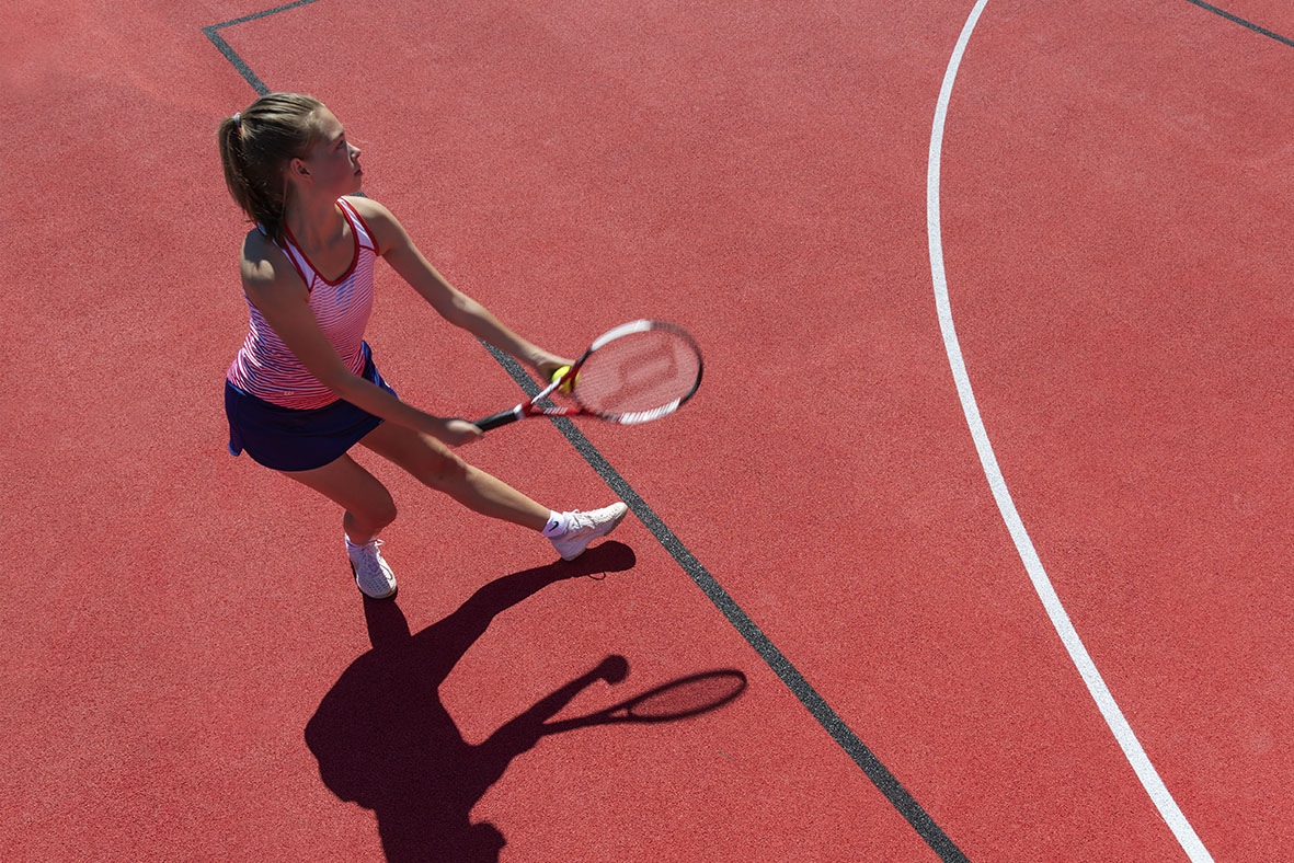 Multi-purpose playing fields: brilliant, versatile pitches are fun for everyone - tennis