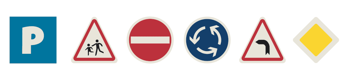 Stylemaker® traffic signs